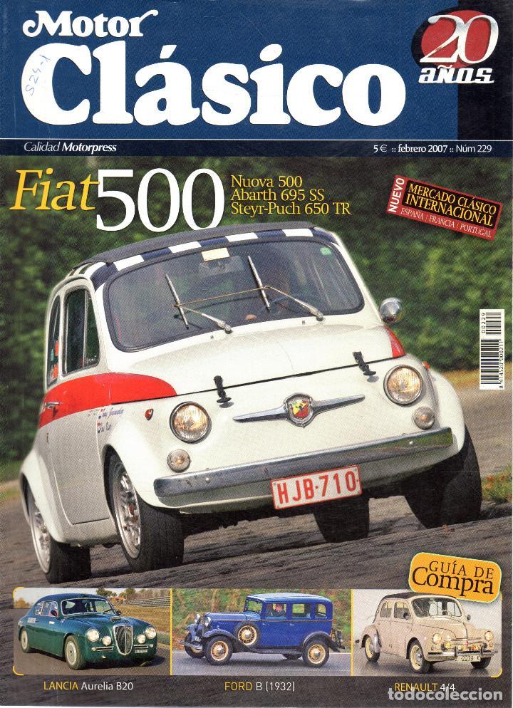 VESIV REVISTA MOTOR CLASICO Nº229 (Coches y Motocicletas - Revistas de Motos y Motocicletas)