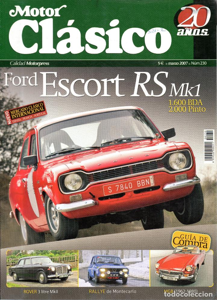 VESIV REVISTA MOTOR CLASICO Nº230 (Coches y Motocicletas - Revistas de Motos y Motocicletas)