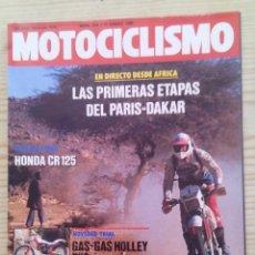 Coches y Motocicletas: REVISTA MOTOCICLISMO 1986 17 ENERO. Lote 131731478