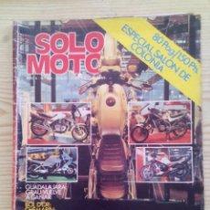Coches y Motocicletas: REVISTA SOLO MOTO 24 SEPTIEMBRE 1982. Lote 131741634
