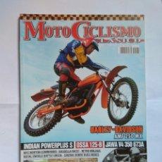 Coches y Motocicletas: REVISTA MOTOCICLISMO CLÁSICO N162 HARLEY DAVIDSON AMF INDIAN OSSA 125 ROYAL ENFIELD JAWA NORTON. Lote 133321199