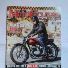 Coches y Motocicletas: REVISTA MOTOCICLISMO CLÁSICO N169 MONTESA BRÍO MARTÍN GSX NSU BULTACO LOBITO TRALLA SANGLAS BAÑEZA. Lote 133322135