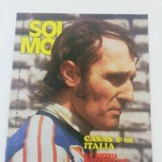Coches y Motocicletas: REVISTA SOLO MOTO NUMERO 144, 8 JUNIO 1978, VER SUMARIO, MONTESA COTA 247 VESPA PRIMAVERA,TONI ELIAS. Lote 133498443