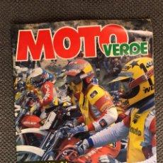 Coches y Motocicletas: MOTO VERDE. REVISTA DE MOTOS. NO.33 (ABRIL DE 1981)?TODO TERRENO, MOTO CROS, TRIAL..... Lote 133976439
