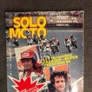 Coches y Motocicletas: SOLO MOTO. REVISTA NO.259 (MAYO DE 1980).. Lote 134018325