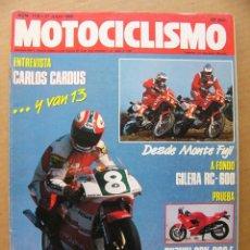 Coches y Motocicletas: MOTOCICLISMO 1118 GILERA RC 600 SUZUKI GSX 600 F HONDA DAX 70 ST ENTREVISTA CARLOS CARDUS. Lote 134065886
