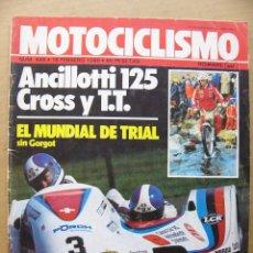 Coches y Motocicletas: MOTOCICLISMO 646 SIROKO 80 BRICOLAGE MOTO Nº22 ANCILLOTI 125 CROSS Y TT TRIAL KARLSON Y MONTESA. Lote 134066382