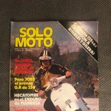 Coches y Motocicletas: SOLO MOTO. REVISTA NO.280 (ABRIL DE 1981). Lote 134076338