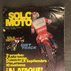 Coches y Motocicletas: SOLO MOTO. REVISTA NO.299. (SEPTIEMBRE DE 1981). Lote 134082402