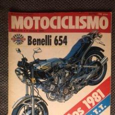 Coches y Motocicletas: MOTOCICLISMO. REVISTA NO.675 (OCTUBRE DE 1980). Lote 134083473