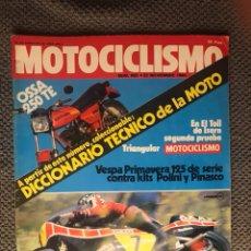 Coches y Motocicletas: MOTOCICLISMO. REVISTA NO.682 (NOVIEMBRE DE 1980). Lote 134088315