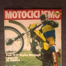 Coches y Motocicletas: MOTOCICLISMO REVISTA NO.689 (ENERO DE 1981). Lote 134088898