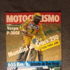 Coches y Motocicletas: MOTOCICLISMO. REVISTA NO.701 (ABRIL DE 1981). Lote 134091631