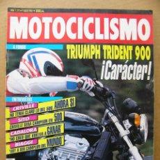 Coches y Motocicletas: MOTOCICLISMO 1272 TRIUMPH TRIDENT 900 PEUGEOT SV CRIVILLE CADALORA BIAGGI SITO PONS VIAJAR EN MOTO. Lote 134140578