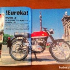 Coches y Motocicletas: REVISTA MOTOCICLISMO, NÚMERO 757, AÑO 1982: MONTESA IMPALA 2. Lote 48826512