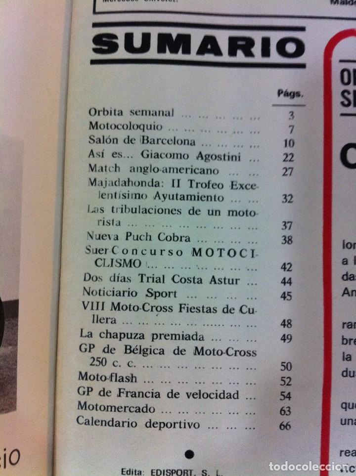 Coches y Motocicletas: REVISTA MOTOCICLISMO, Nº 457, MAYO 1976 - DUCATI 500, ÁNGEL NIETO, FIN POLÉMICA REVISTA CON DERBI... - Foto 3 - 54907788