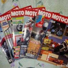 Coches y Motocicletas: LOTE MOTOCICLISMO 6 REVISTAS '89 A1991 XRB SHADOW ZEPHYR. Lote 134973194