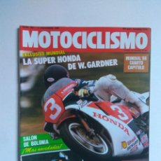 Coches y Motocicletas: REVISTA MOTOCICLISMO 983 MORINI 501 HONDA NSR KTM APRILIA AF1 GILERA 125 APRILIA WIND 350. Lote 135023514