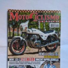 Coches y Motocicletas: REVISTA MOTOCICLISMO CLASICO Nº 155 BENELLI 900 FUSTE 175 SPORT RAMON TORRAS JOEL ROBERT. Lote 135279646