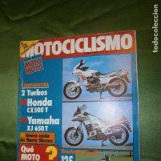 Coches y Motocicletas: (F.1) REVISTA MOTOCICLISMO EXTRA AGOSTO ( G.P. INGLATERRA-CTO. MUNDO VELOCIDAD 9ª PRUEBA NIETO-TORMO. Lote 135409846