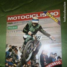 Coches y Motocicletas: (F.1) REVISTA MOTOCICLISMO Nº 452 AÑO 1976 (EN ALCOBENDAS: OLMEDO OTRA VEZ). Lote 135410142