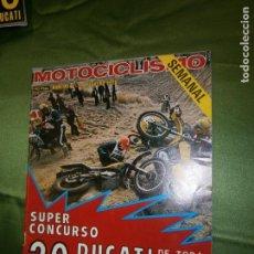 Coches y Motocicletas: (F.1) REVISTA MOTOCICLISMO Nº 448 AÑO 1976(NUEVE MARCAS PARA UN TRIUNFO ..BULTACO DERBI GIMSON GUZZI. Lote 135410622