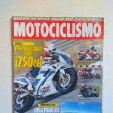 Coches y Motocicletas: REVISTA MOTOCICLISMO Nº 1330 APRILIA PEGASO YAMAHA XTZ FZR SUZUKI RM KTM HUSQVARNA. Lote 135424882