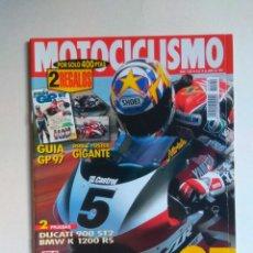 Coches y Motocicletas: REVISTA MOTOCICLISMO Nº 1520 BMW R 1200C K 1200 RS DUCATI 900 ST2 HONDA NRV SPACY ROYAL ENFIELD BULL. Lote 135586122