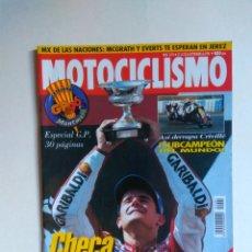 Coches y Motocicletas: REVISTA MOTOCICLISMO Nº 1491 KASAWAKI ER5 HARLEY DAVIDSON OLD BOY HONDA CR YAMAHA DRAG VIRAGO. Lote 135588026