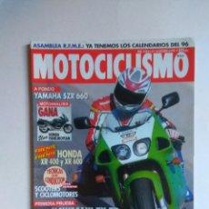 Coches y Motocicletas: REVISTA MOTOCICLISMO Nº 1450 KAWASAKI ZX 7R YAMAHA SZR 660 HONDA XR 600 XR 400 VESPINO VELOFAX . Lote 135592970