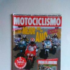 Coches y Motocicletas: REVISTA MOTOCICLISMO Nº 1402 HONDA VT SHADOW RC AARON SLIGHT DCATI 916 KAWASAKI ZX FANTIC 249. Lote 135601978