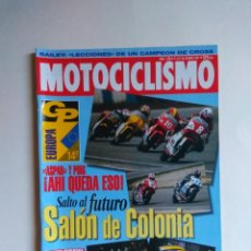 Coches y Motocicletas: REVISTA MOTOCICLISMO Nº 1390 BMW R100 GS BMW R 1100 GS . Lote 135603126