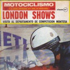 Coches y Motocicletas: REVISTA MOTOCICLISMO FEBRERO 1971 MONTESA BRIO 50 . Lote 135641483