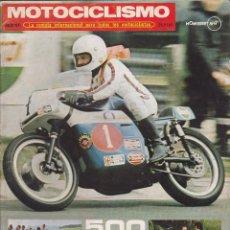 Coches y Motocicletas: REVISTA MOTOCICLISMO JULIO 1971. Lote 135642183