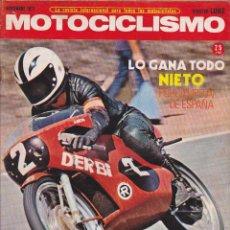 Coches y Motocicletas: REVISTA MOTOCICLISMO NOVIEMBRE 1971 PRUEBA PUCH TRIVEL SUPER BORRASCA. Lote 245178495