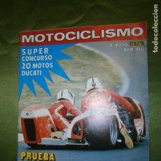 Coches y Motocicletas: (F.1) REVISTA MOTOCICLISMO Nº 458 AÑO 1976 (G.P. DE CHECOSLOVAQUIA: EL FRACASO DE MIKKOLA). Lote 135647651