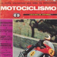 Coches y Motocicletas: REVISTA MOTOCICLISMO ENERO 1966 . Lote 135648403