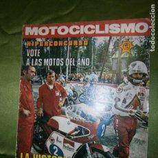 Coches y Motocicletas: (F.1) REVISTA MOTOCICLISMO Nº 490 AÑO 1976( POSTER DE GERRIT WOLSNK (SUZUKI-500). Lote 135648971