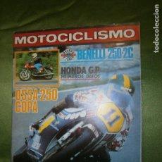 Coches y Motocicletas: (F.1) REVISTA MOTOCICLISMO Nº 617 AÑO 1979(CHARO GARCÍA DE LA BARGA Y PRISCA VÁZQUEZ DOS AUTENTICAS. Lote 135652291