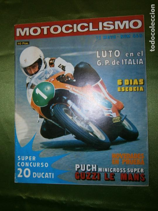 (F.1) REVISTA MOTOCICLISMO Nº460 AÑO 1976( POSTER DE JAIME SUBIRA (MONTESA 348) (Coches y Motocicletas - Revistas de Motos y Motocicletas)