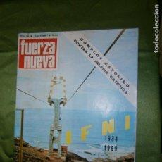 Coches y Motocicletas: (F.1) REVISTA FUERZA NUEVA Nº119 AÑO 1969( DEL MORABITO DE SIDI-IFNI A UNA GRAN CIUDAD,DE UN NADA- . Lote 135655923
