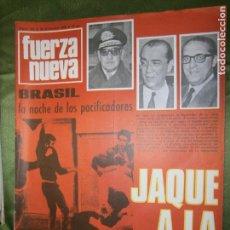 Coches y Motocicletas: (F.1) REVISTA FUERZA NUEVA Nº103 AÑO 1968( DIARIO DE UN INGENUO: LOS OBISPOS Y EL PUEBLO DE DIOS. Lote 135656587
