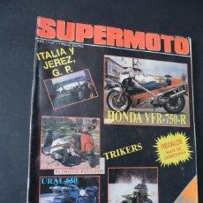 Coches y Motocicletas: MUY RARA REVISTA - SUPERMOTO Nº 1 / FESTA DI SANTOMERO / VER INDICE. Lote 135786902