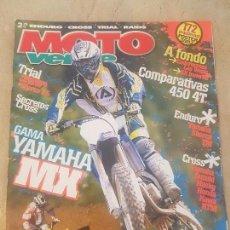 Coches y Motocicletas: REVISTA MOTO VERDE N° 329 AÑO 2005 EDICION 1/ COMP: YAMAHA/ SUZUKI/ HONDA/KTM. Lote 136025870