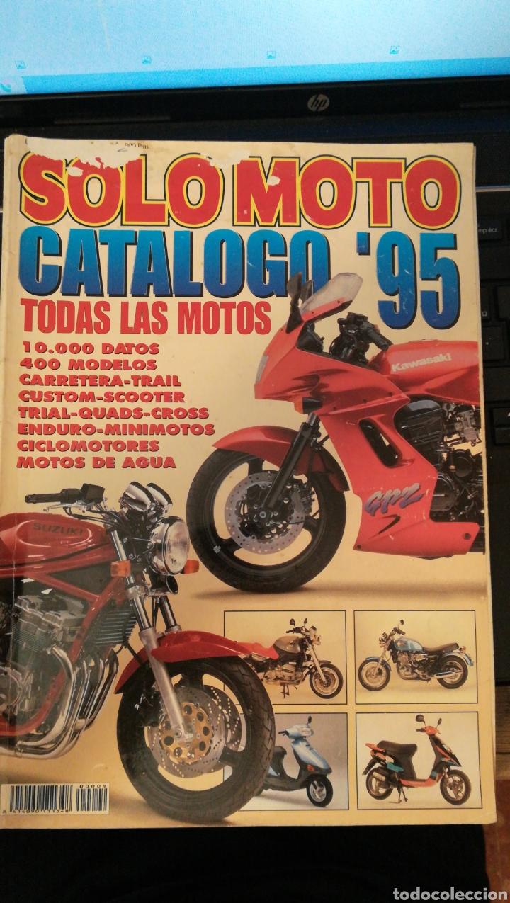 REVISTA SOLO MOTO CATALOGO 95 * NOVEDADES 95 * 400 MODELOS * 40 (Coches y Motocicletas - Revistas de Motos y Motocicletas)