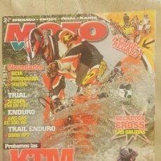 Coches y Motocicletas: REVISTA MOTO VERDE N° 325 AÑO 2005 EDICION 8/ PROBAMOS LAS KTM 2006 CROSS & ENDURO.. Lote 136162570