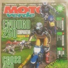 Coches y Motocicletas: REVISTA MOTO VERDE N° 316 AÑO 2004 EDICION 11/ COMP: HONDA, KTM,SUZUKI,YAMAHA, HUSQVARNA.. Lote 136228238
