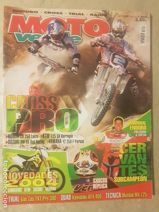 Revista Moto Verde N 300 Año 2003 Ed7honda C Buy Old Magazines