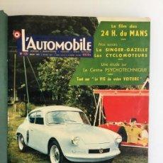 Coches y Motocicletas: L' AUTOMOBILE Nº 135 A 140 ENCUADERNADOS. Lote 136414502