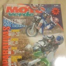 Coches y Motocicletas: REVISTA MOTO VERDE N° 317 AÑO 2004 ED.12.ESPECIAL COMPARATIVAS, ENDURO, CROSS, TRIAL, TRACCIÓN TOTAL. Lote 136521530